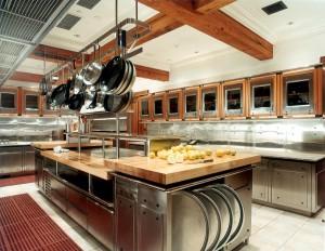Rustic-Elegant-Commercial-Kitchen-Design-Foto-Wallpaper